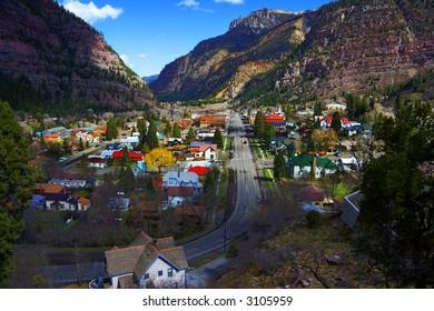 Charming Mountain Town
