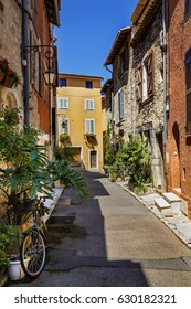 Charming, Narrow Street in Vence, Provence