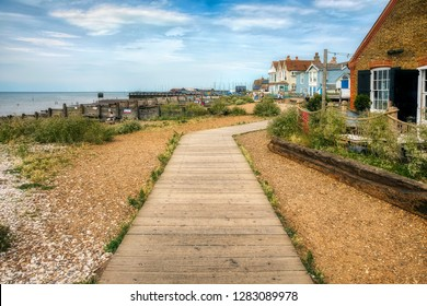 From the Charming Sea Promenade at Whitstable, Kent, England