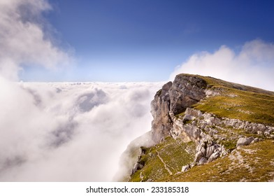Chartreuse in the Clouds near Crolles