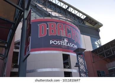 Chase Field Arizona Diamondbacks Phoenix Arizona 1/27/18