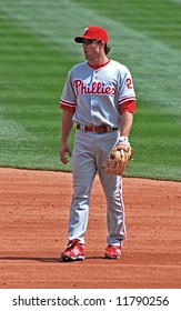 Chase Utley of the Phillies