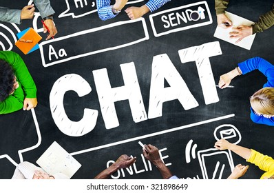 Chat Chatting Communication Social Media Internet Concept