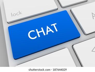 chat computer key