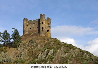 The Chateau Alleuze is a ruined castle situated in the cantal (France).