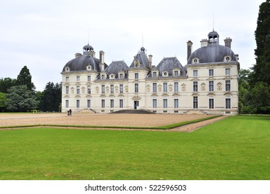 Chateau Cheverny in France, Loire Valley.
