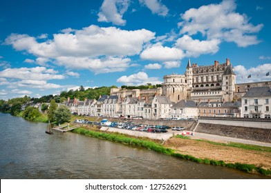 Chateau de Amboise in Loire valley, France