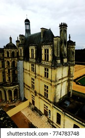 Chateau de Chambord France December 12th 2017 - The royal Chateau de Chambord at Loir-et-Cher, France, is one of the most recognizable castles in the world