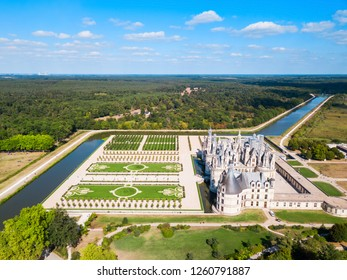 Chateau de Chambord is the largest castle in the Loire valley, France