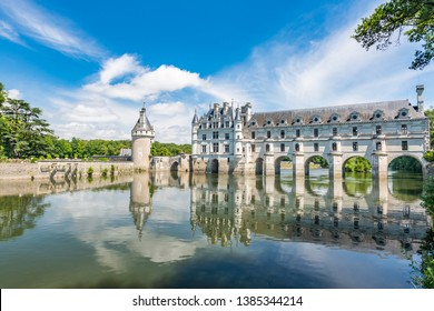 Chateau de Chambord, royal medieval castle at Chambord, France, in the Loire Valley. French Renaissance architecture. Unesco heritage