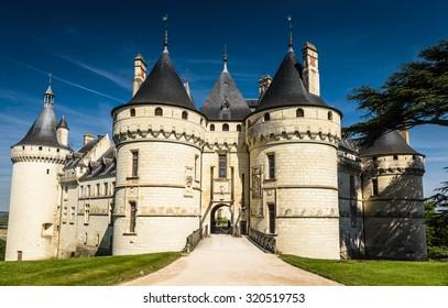 Chateau de Chaumont-sur-Loire,Loire Valley, France. Valley,