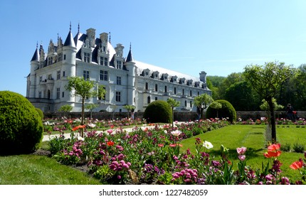 Chateau de Chenonceau - France, the Loire Valley-13. April 2017