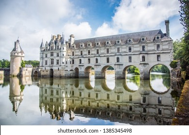 The Chateau de Chenonceau is located in Chenonceau near Amboise in the Loire Valley.