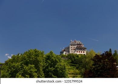 Chateau de Menthon  Saint  Bernard Lake Annecy France