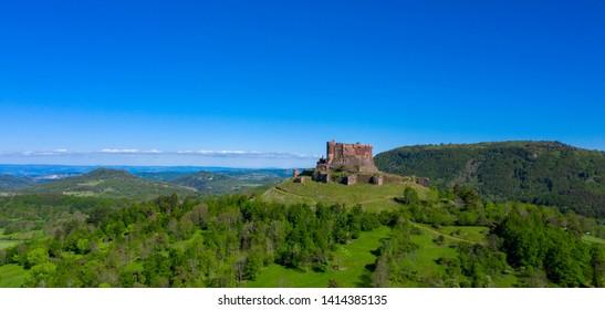 chateau de Murol, auvergne in france