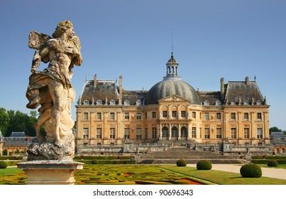 Chateau de Vaux le Vicomte near Paris