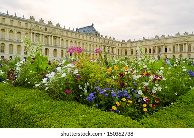 Chateau de Versailles perspective from Parterre Nord - France