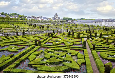 Chateau de Villandry is a castle-palace located in Villandry, in department of Indre-et-Loire, France. He is a world known for its amazing gardens.