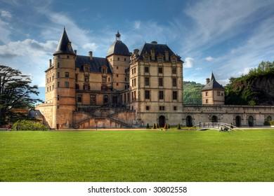 Chateau de Vizille 03, near Grenoble, France (HDR image)