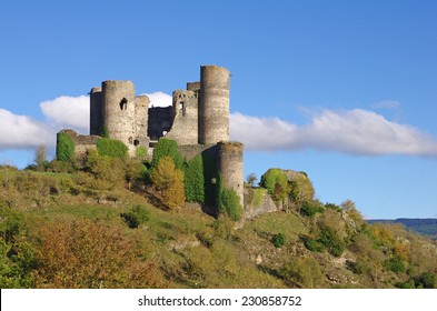 The Chateau domeyrat is a ruined castle situated in auvergne (France).