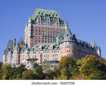 Chateau Frontenac in autumn, Quebec City