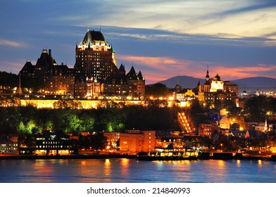 Chateau Frontenac in Old Quebec City