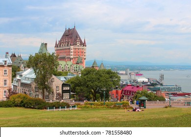 Chateau Frontenac in Quebec