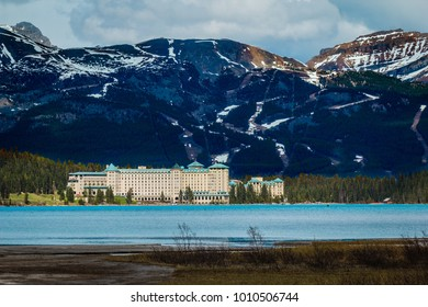 Chateau Lake Louise in Banff National Park