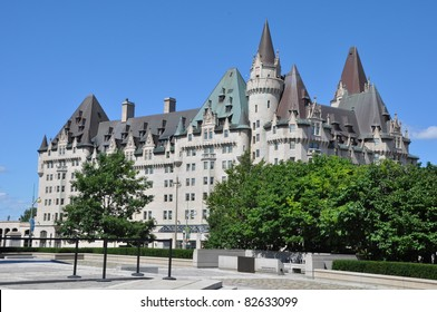 Chateau Laurier in Ottawa, Canada