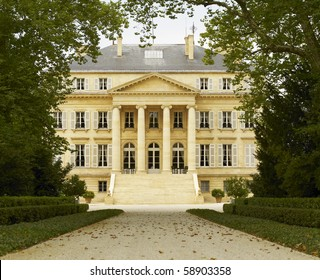 Chateau Margaux in Bordeaux