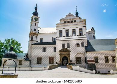 The chateau of Pardubice in Pardubice, Czech Republic - Shutterstock ID 1442805680