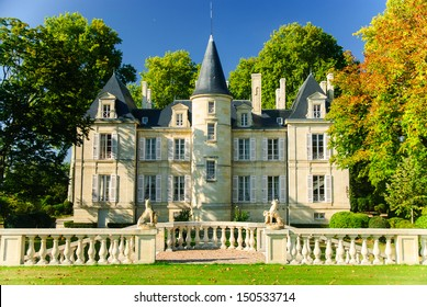 Chateau Pichon Lalande in region Medoc, France