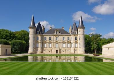 Chateau Pichon Longueville is a famous wine estate of Bordeaux wine. France