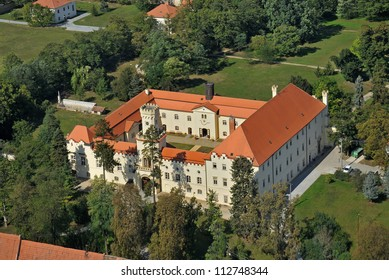 Chateau Sokolnice at Brno, venue Napoleonic Battle of Austerlitz 1805