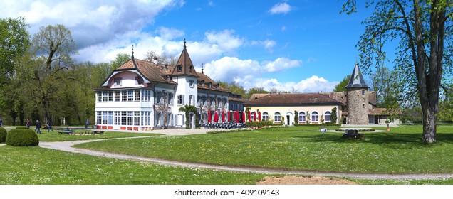 Chateaux de Bossey, Geneva canton, Switzerland. Taken in APR 2016.