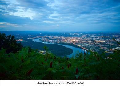 Chattanooga at Night