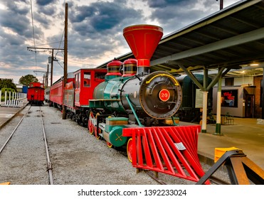 Chattanooga, Tennassee - 10/18/2016:   The Chattanooga Choo Choo, a hotel complex in Downtown Chattanooga, TN. in Downtown Chattanooga, TN.