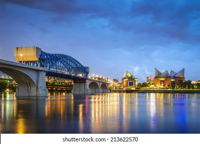 Chattanooga, Tennessee, USA downtown skyline.