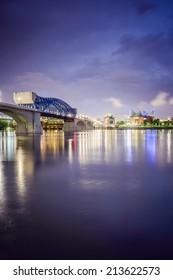 Chattanooga, Tennessee, USA downtown skyline.