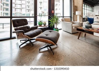 Chattanooga, TN / USA - 01312019: Smart Furniture Studio