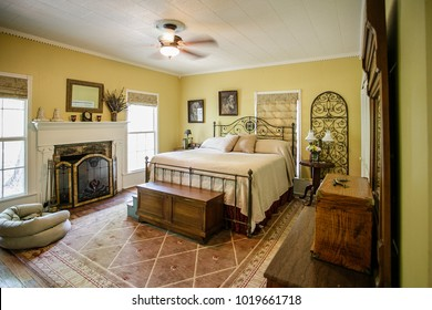 chattanooga, TN / USA - 042215: jumperosa-estate farm house interior and exterior shots