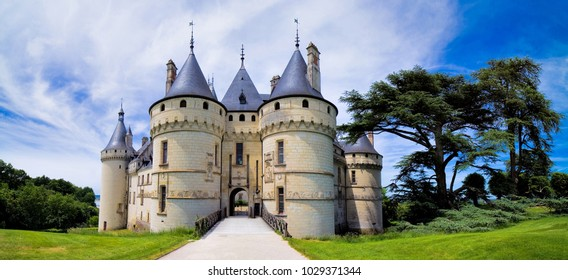 Chaumont-sur-Loire, castle of the Loire, France