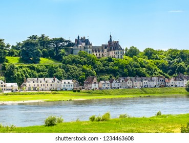 Chaumont-sur-Loire castle in Loire valley, France