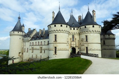 Chaumont-sur-Loire, France, April 14, 2017 - The Château de Chaumont is a castle in Chaumont-sur-Loire, Loir-et-Cher, France