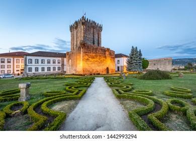 Chaves/Vila Real/Portugal - June 14 2019: Castelo de Chaves