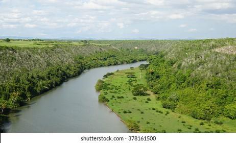 Chavon River in La Romana, Dominican Republic