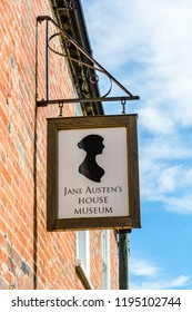 Chawton, Hampshire, UK - July 16, 2016: Jane Austen's memorial house museum.