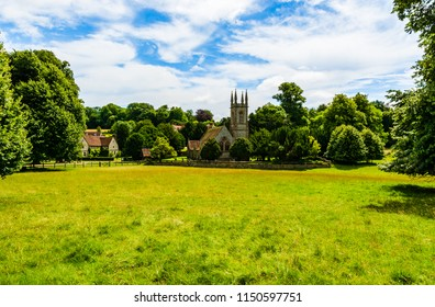 Chawton, Hampshire, UK: St Nicholas Church, Jane Austen's Parish Church and the burial place of her mother and sister.
