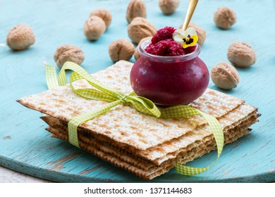 chazeret (horseradish) Symbolic food on traditional Passover (Pesach) Seder plate