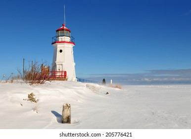 Cheboygan Crib Light is a light that marks the west pier head of the mouth of the Cheboygan River into Lake Huron in Cheboygan, Michigan, USA.